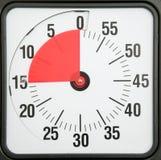 concept de réunions de programme de date-butoir d'affaires de minuterie de compte à rebours photographie stock libre de droits