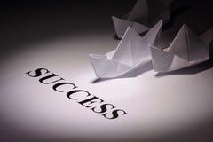 Concept de réussite Images stock