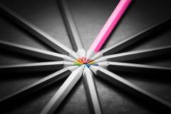 Concept de réussite commerciale de direction Photo stock