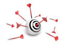 Concept de réussite d'affaires illustration libre de droits