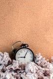 Concept de rebut de temps Photographie stock