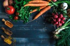 Concept de recettes de nourriture Image libre de droits