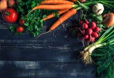 Concept de recettes de nourriture Photo stock