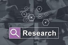 Concept de recherche photographie stock