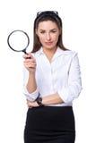 Concept de recherche d'affaires photo stock