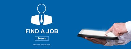 Concept de recherche d'un emploi images stock
