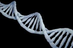 Concept de recherches de modèle de cellules d'ADN, rendu 3D Images libres de droits