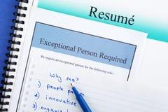 Concept de recrutement Photos stock