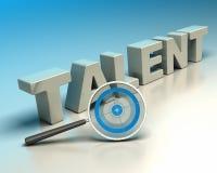 Concept de recruteur, chasseur de talent Images libres de droits