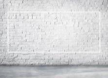Concept de rectangle de frontière de place de l'espace de copie de cadre Photos stock
