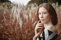 Concept de regard et de beauté naturels Photographie stock