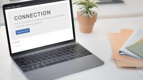 Concept de relation de mise en réseau de correspondance de connexion photos libres de droits