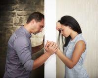 Concept de relations d'amour Photographie stock