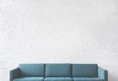 Concept de relaxation de décoration de conception de meubles de divan photographie stock