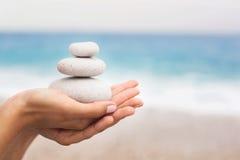 Concept de relaxation et d'équilibre photo stock