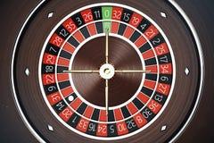 Concept de rendu de la roulette 3D de casino de Las Vegas Jeu de roulette de casino Concept de jeu de casino Image stock