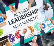 Concept de responsabilité de Leadership Management Director de conseiller images stock