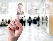 Concept de ressources humaines Photographie stock libre de droits