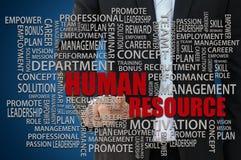 Concept de ressources humaines Photos libres de droits