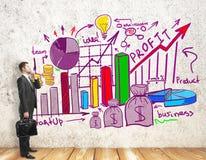 Concept de revenu Photo libre de droits