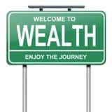 Concept de richesse. illustration libre de droits
