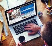 Concept de risque de Developer Business Dealer d'entrepreneur Photographie stock libre de droits
