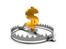 Concept de risque de finances Photos stock