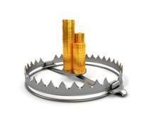 Concept de risque de finances Image libre de droits