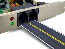 Concept de route de Digitals Image stock
