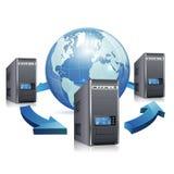 Concept de réseau Photo stock
