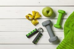 Concept de séance d'entraînement de forme physique Photos stock