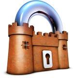 Concept de sécurité Photographie stock libre de droits