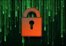 Concept de sécurité Image libre de droits
