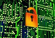 Concept de sécurité Images stock