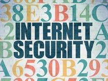 Concept de sécurité : Sécurité d'Internet sur Digital Photo stock