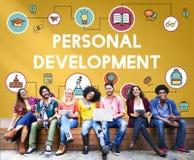 Concept de sagesse d'instruction de développement d'école de formation photo libre de droits