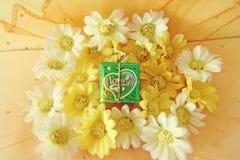 Concept de Saint-Valentin avec des lettres Images libres de droits