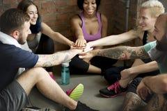 Concept de santé de forme physique d'exercice de séance d'entraînement photo libre de droits