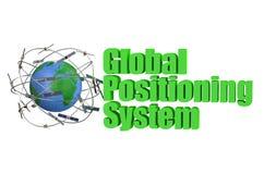 Concept de satellite de GPS illustration stock