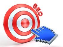 Concept de SEO Photographie stock libre de droits
