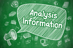 Concept de service de renseignements d'analyse illustration de vecteur