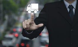 Concept de service de distribution de camion photos libres de droits
