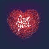 Concept de signe de coeur Image stock