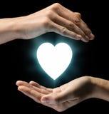 Concept de soin de l'amour et du soin Image stock