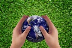 Concept de soin de la terre Images libres de droits