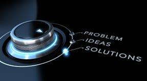 Concept de solution illustration stock