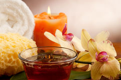 Concept de station thermale Images stock