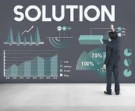 Concept de statistiques d'Analytics de résultats de bénéfice Photo libre de droits