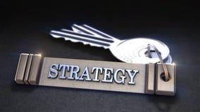 Concept de stratégie commerciale Image libre de droits