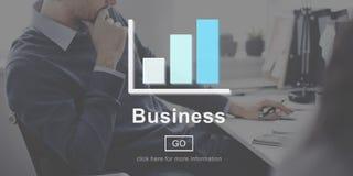 Concept de stratégie d'organisation d'entreprise d'affaires Image libre de droits